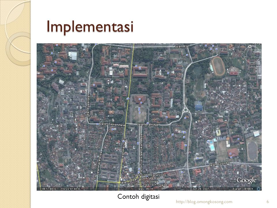 Implementasi Contoh digitasi http://blog.omongkosong.com