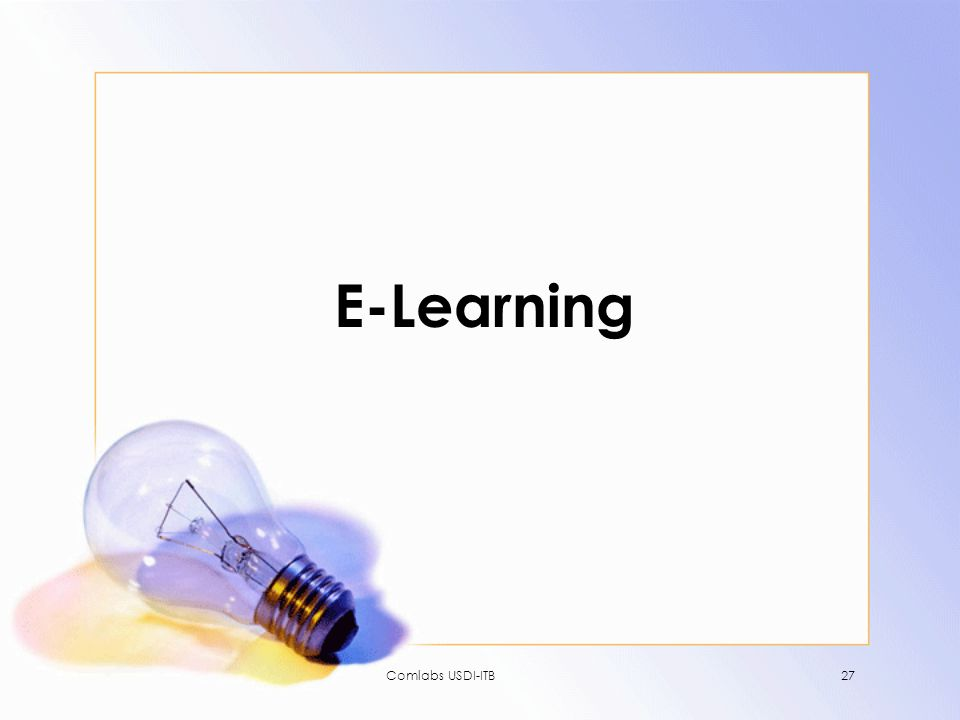 E-Learning Comlabs USDI-ITB