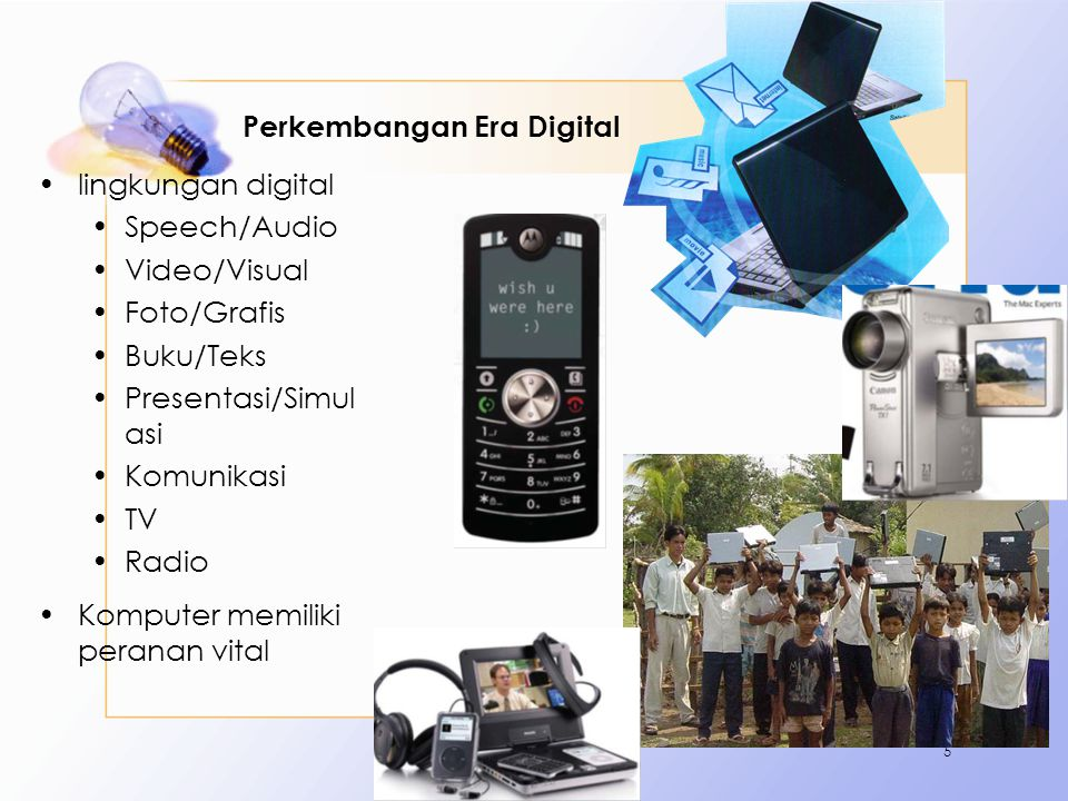 Perkembangan Era Digital