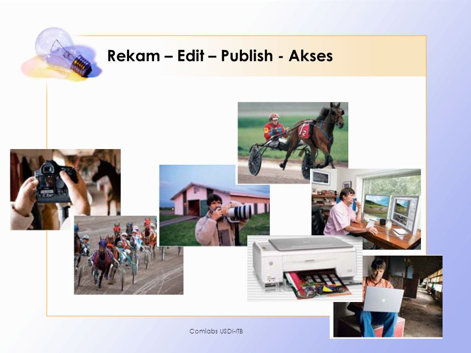 Rekam – Edit – Publish - Akses