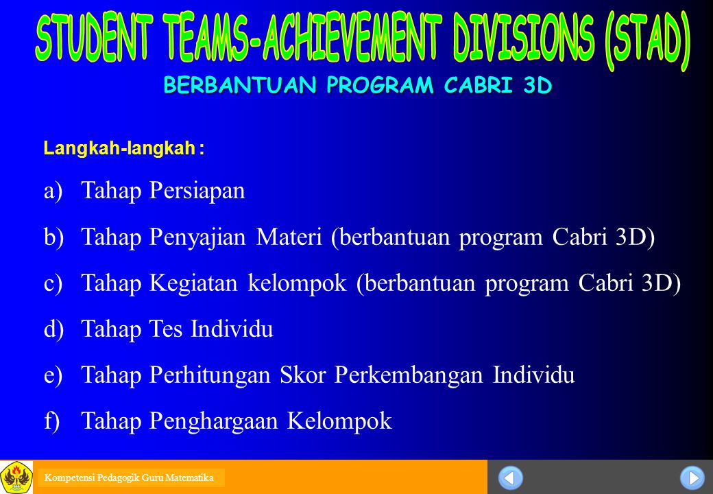 BERBANTUAN PROGRAM CABRI 3D