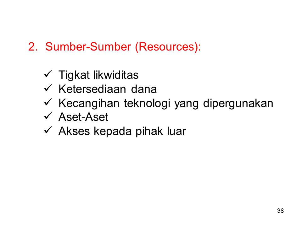 Sumber-Sumber (Resources):