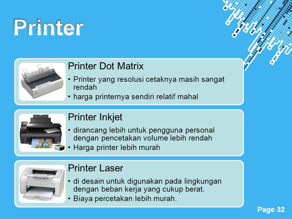 Printer Printer Dot Matrix