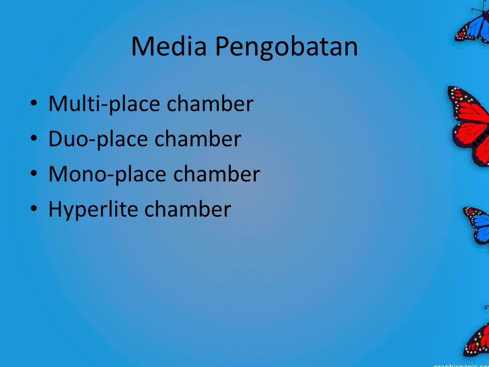 Media Pengobatan Multi-place chamber Duo-place chamber