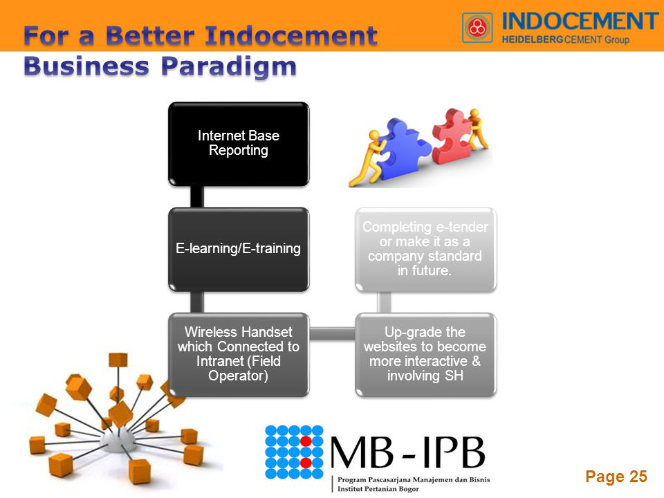 For a Better Indocement Business Paradigm