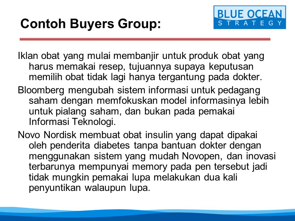 Contoh Buyers Group: