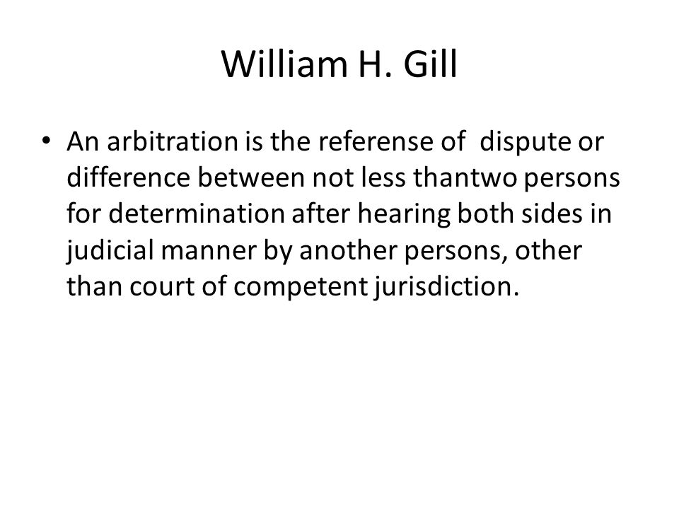 William H. Gill