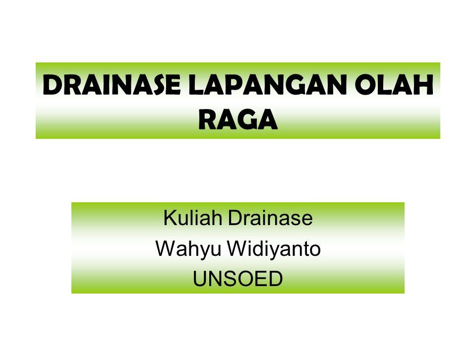 Drainase Lapangan Olah Raga Ppt Download