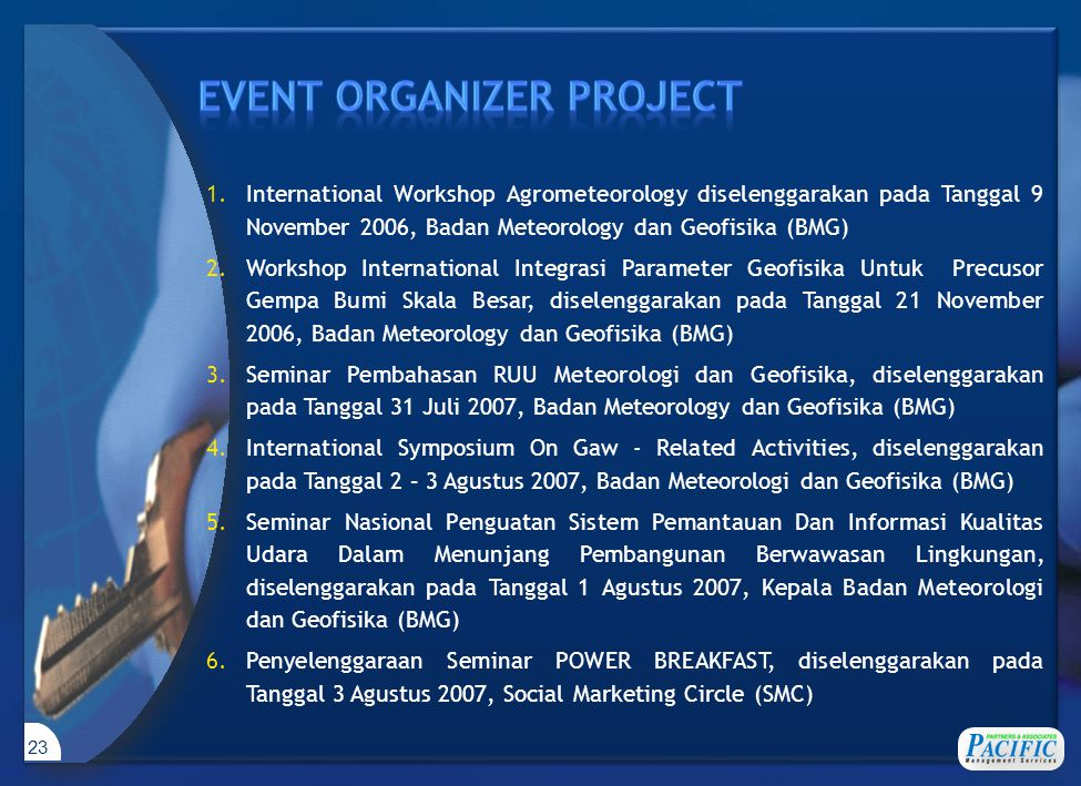 EVENT ORGANIZER PROJECT