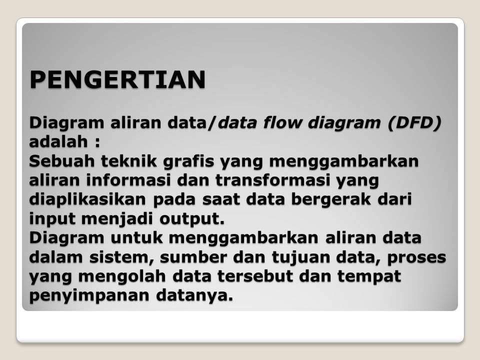 Diagram aliran data data flow diagram dfd ppt download pengertian diagram aliran datadata flow diagram dfd adalah sebuah teknik grafis ccuart Gallery