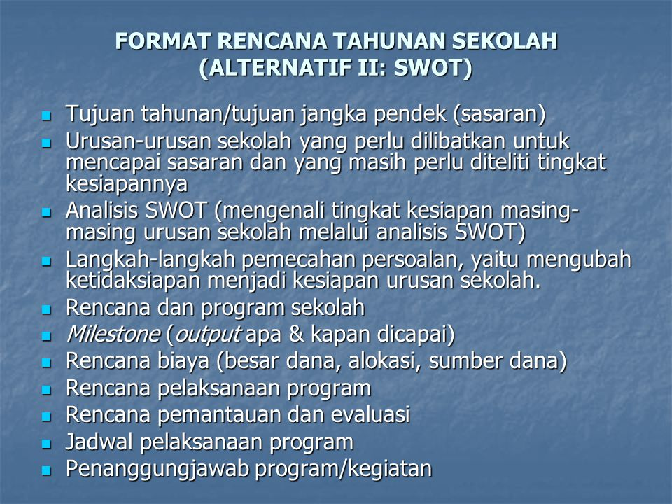 Rencana Pengembangan Sekolah Rps Ppt Download