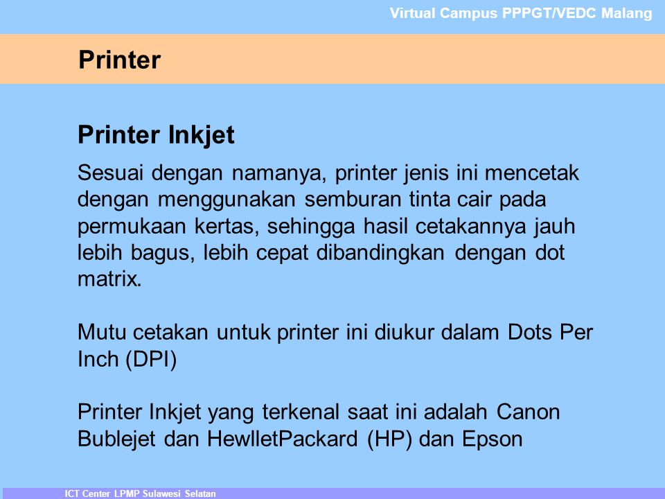 Printer Printer Inkjet