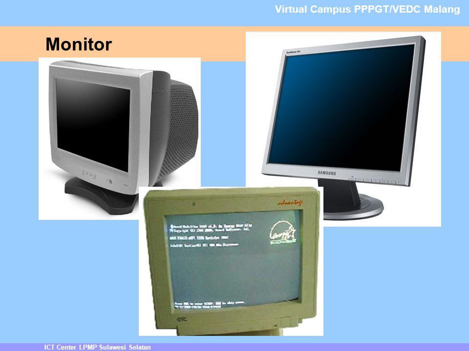 Monitor Virtual Campus PPPGT/VEDC Malang