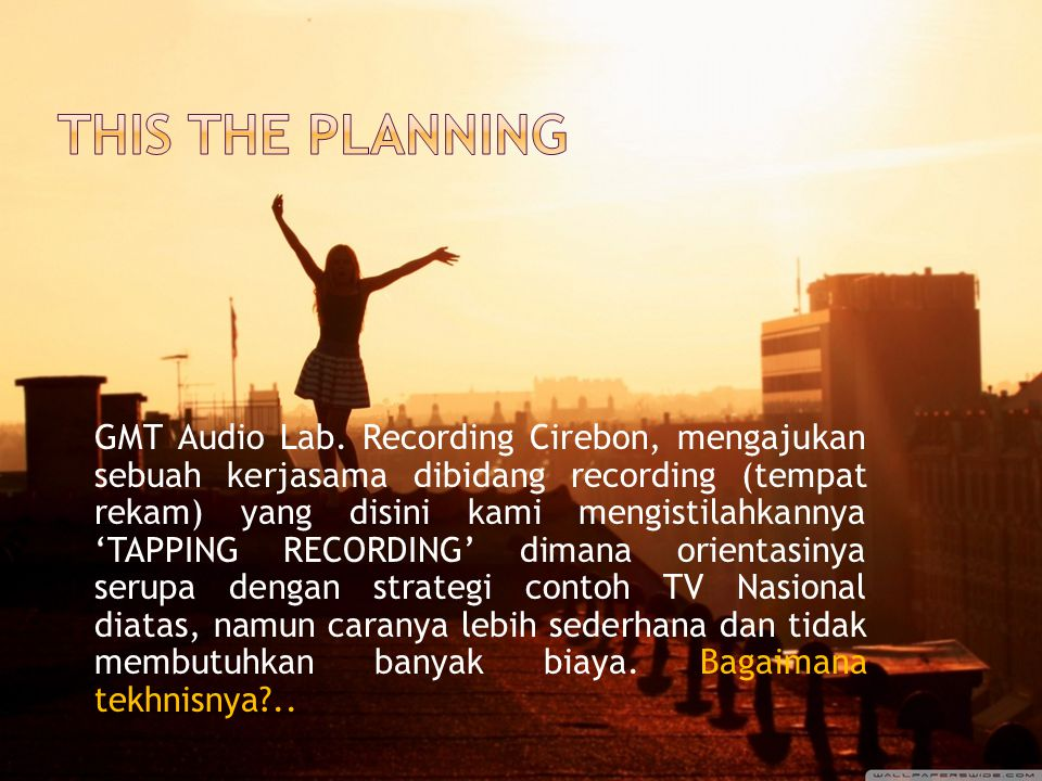 This the planNING