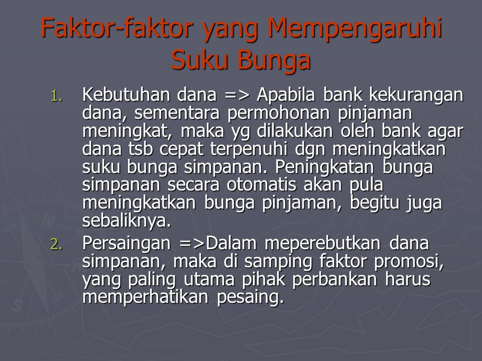 Suku Bunga Ppt Download