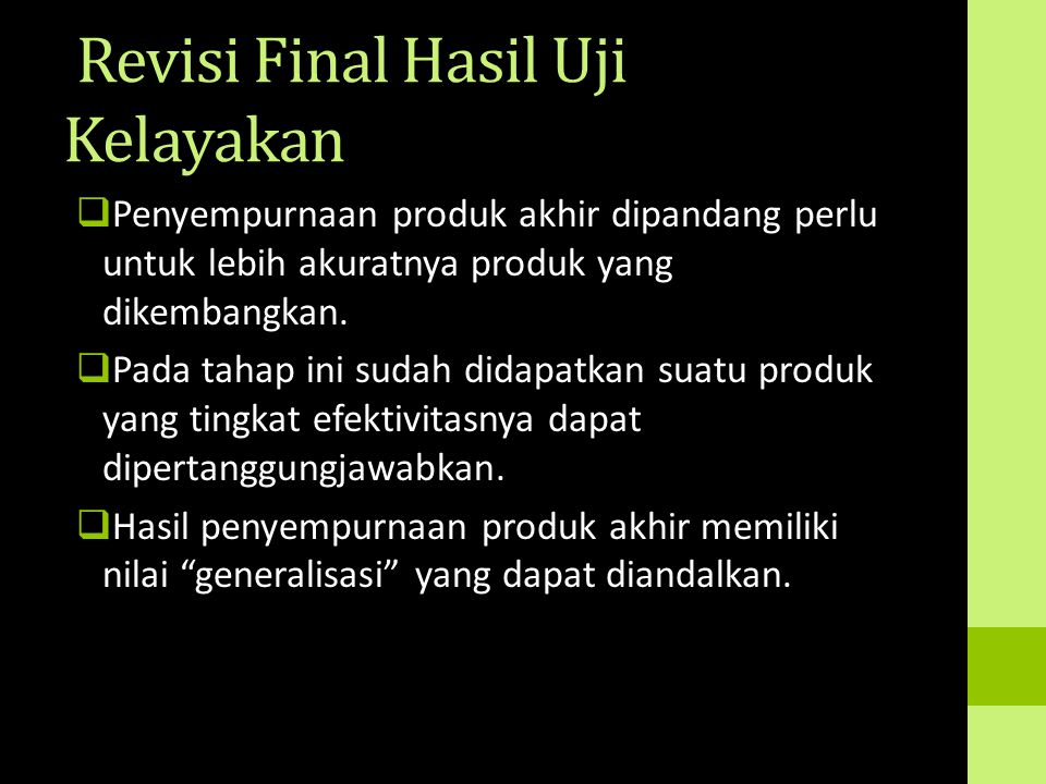 Revisi Final Hasil Uji Kelayakan
