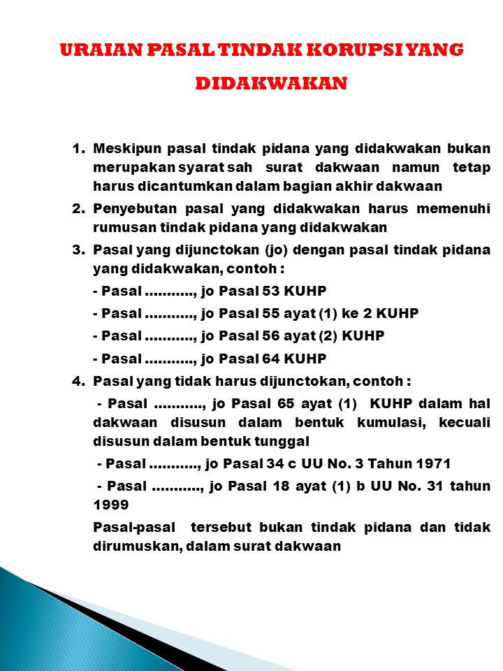 Penyusunan Surat Dakwaan Ppt Download