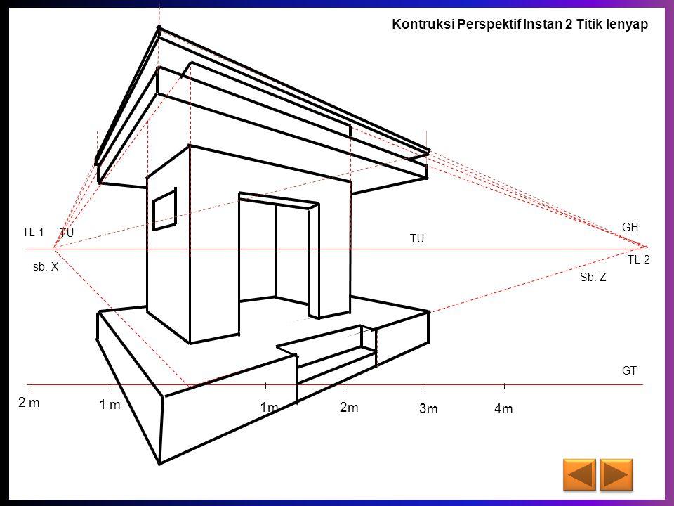 Menggambar Teknik Perspektif Instan 2 Titik Lenyap Ppt Download