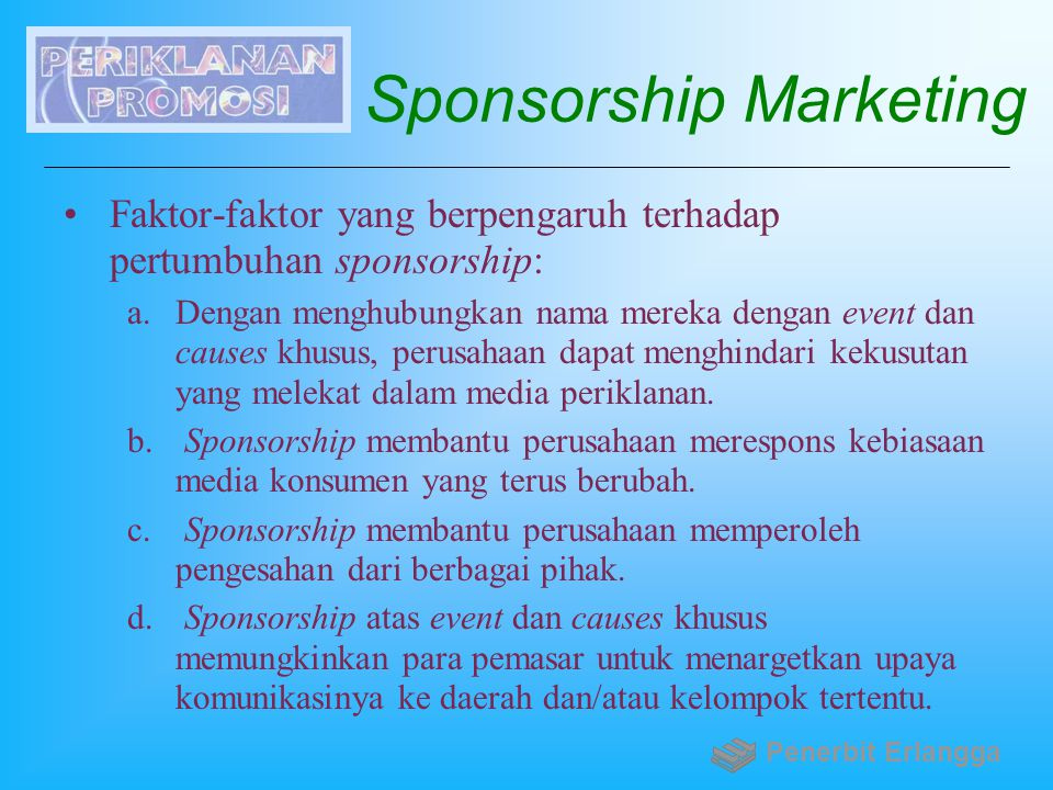 Sponsorship Marketing