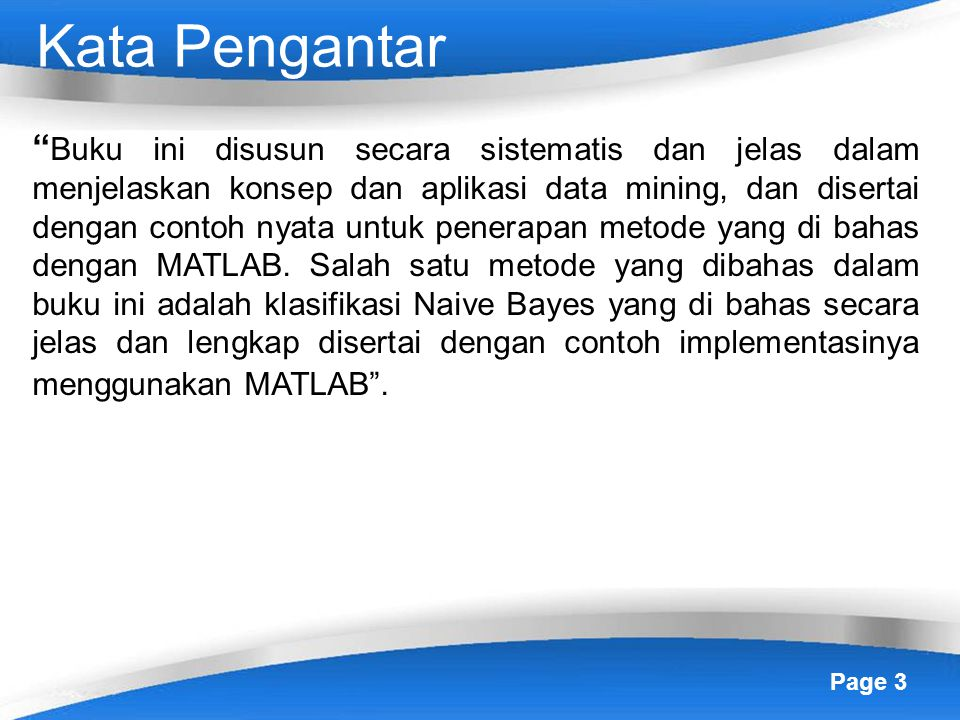 Kesimpulan Buku Data Mining Ppt Download