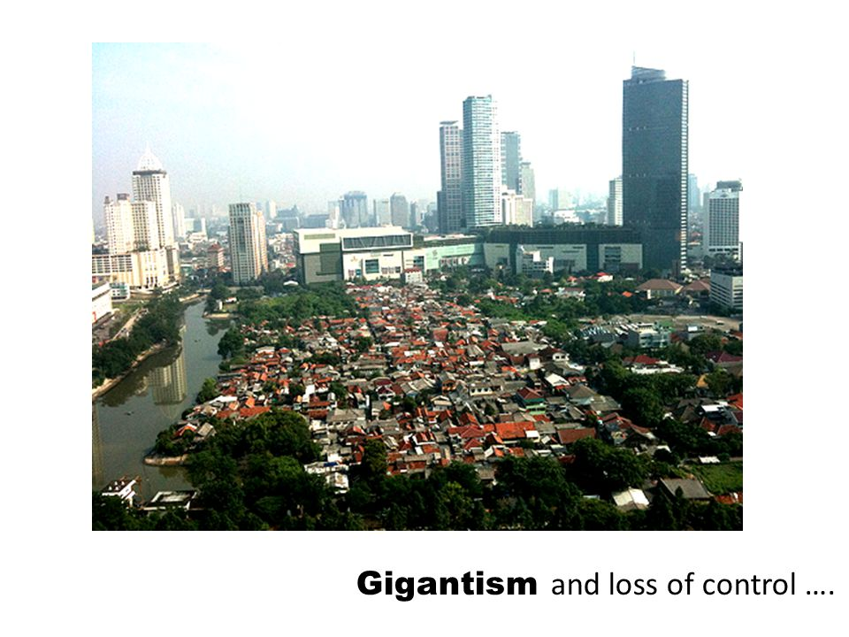 Gigantism and loss of control ….