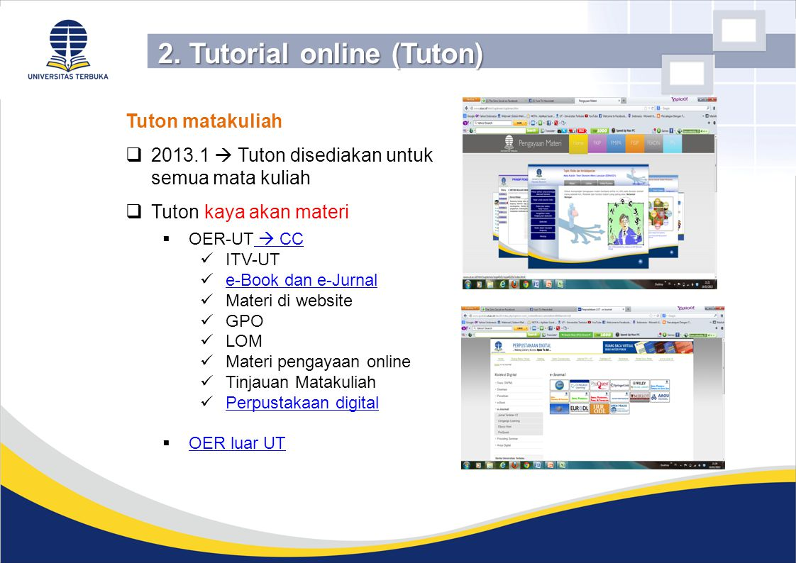 2. Tutorial online (Tuton)