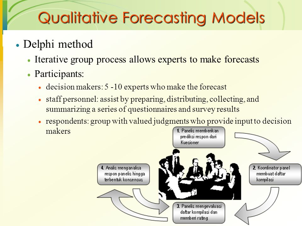 Qualitative Forecasting Models