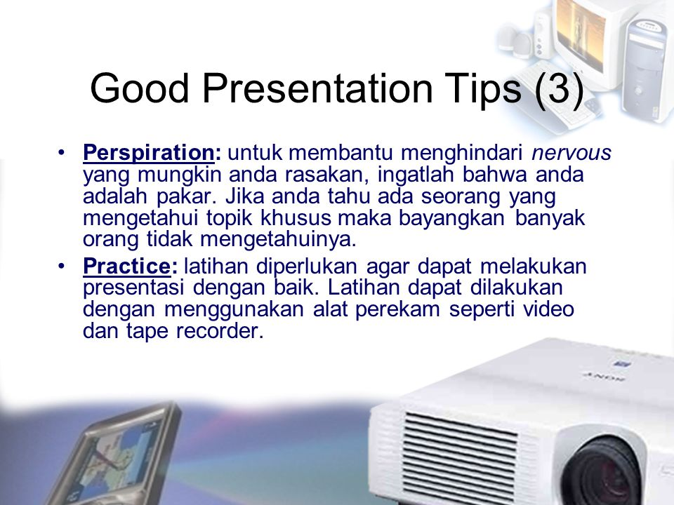 Good Presentation Tips (3)