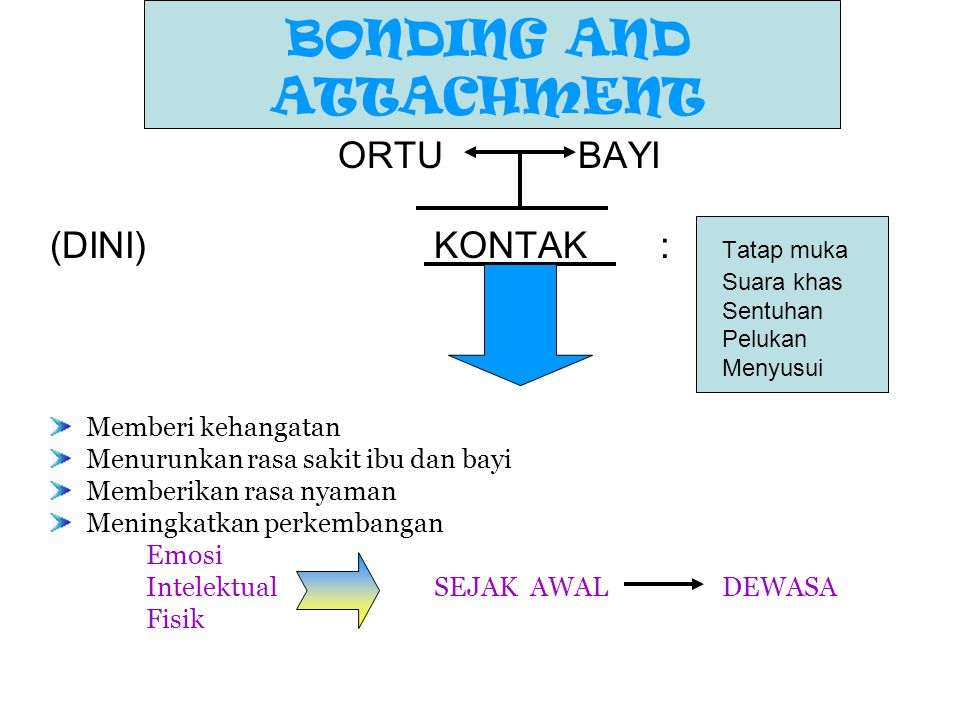 BONDING AND ATTACHMENT