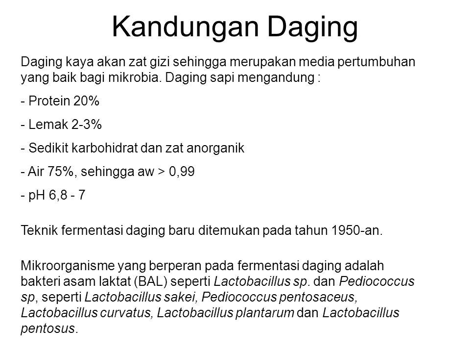 Fermentasi Bahan Pangan Hewani Ppt Download