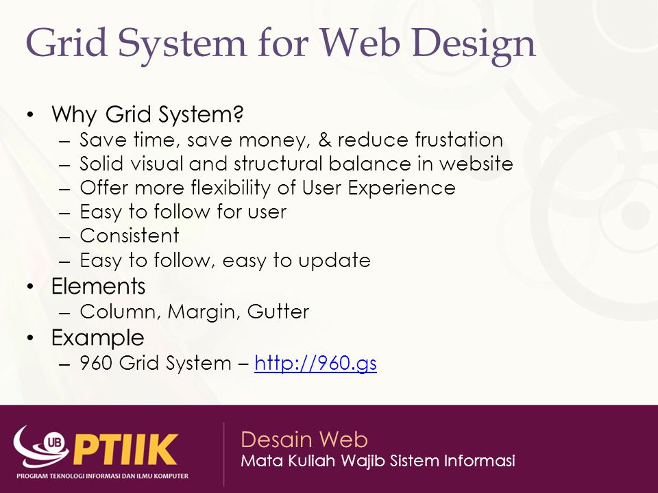 Grid System for Web Design