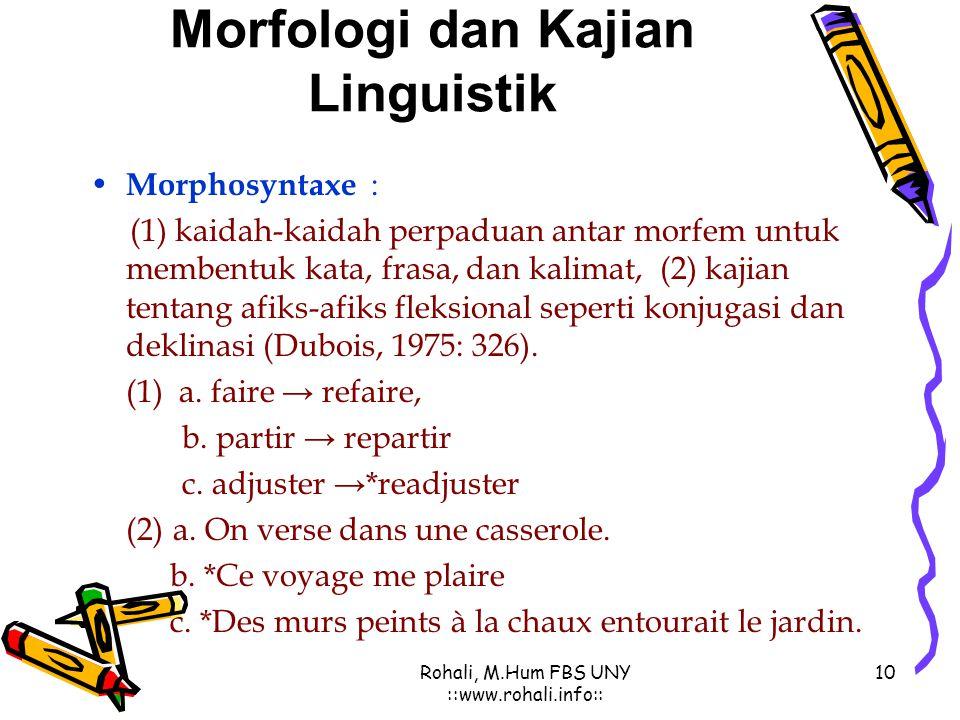 Morphologie Du Français Ppt Download