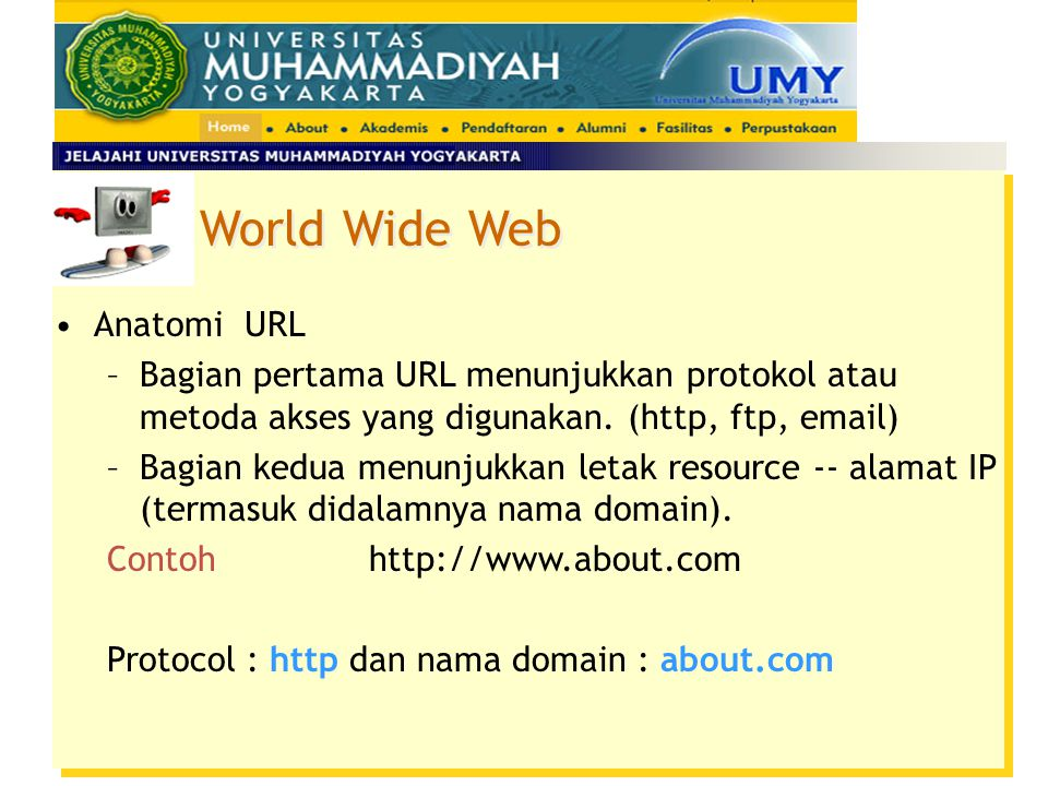 World Wide Web Anatomi URL