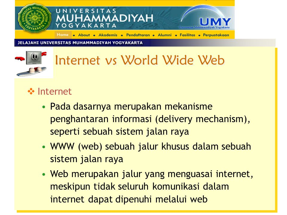Internet vs World Wide Web