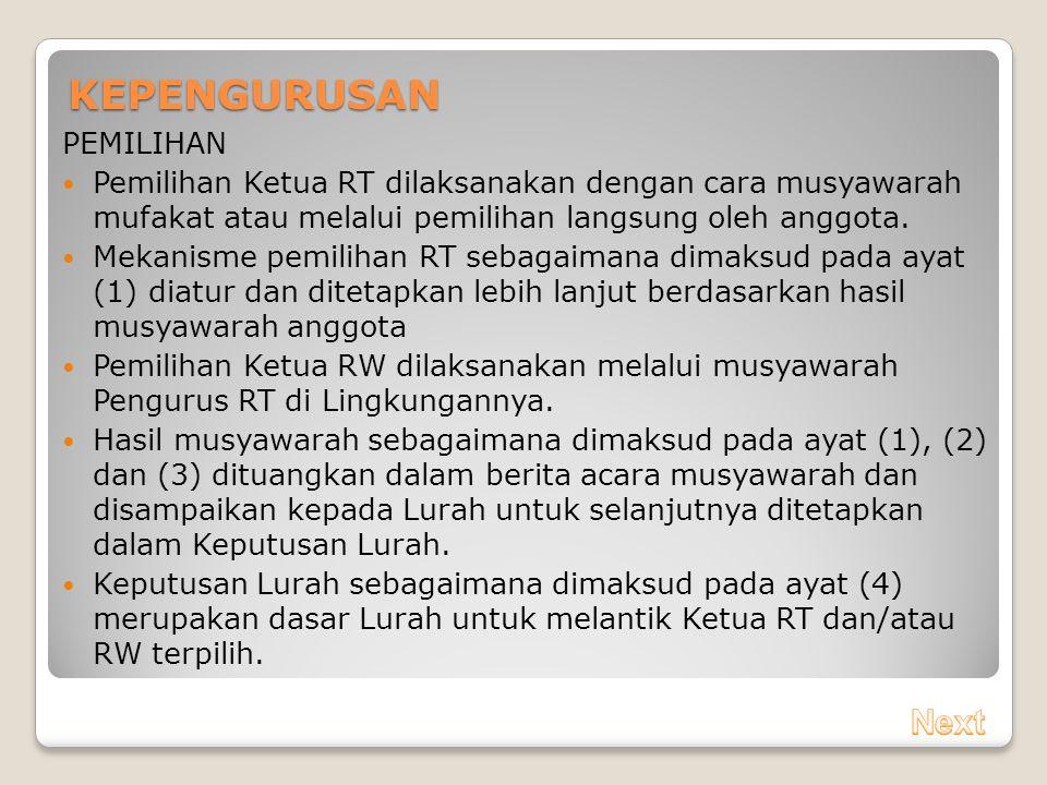 Tertib Administrasi Dan Optimalisasi Pemberdayaan Rtrw