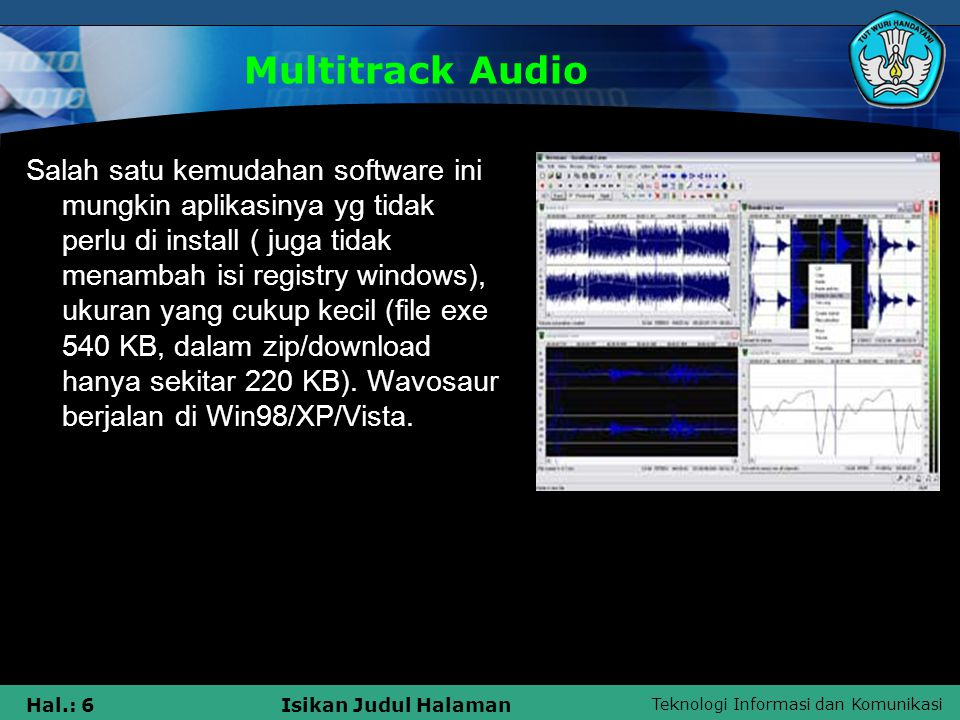 Multitrack Audio