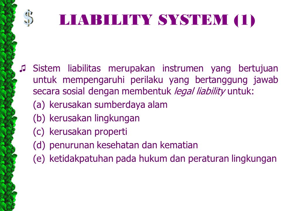 LIABILITY SYSTEM (1)
