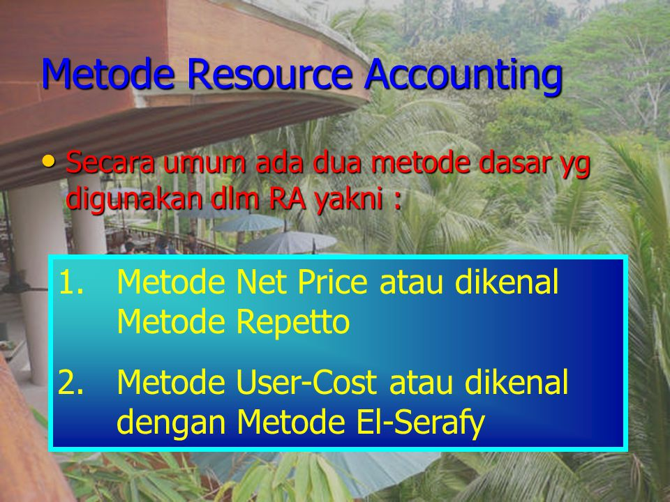 Metode Resource Accounting