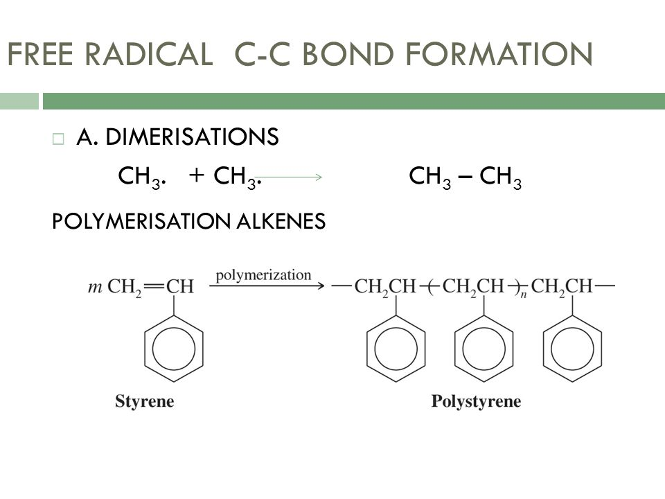 FREE RADICAL C-C BOND FORMATION
