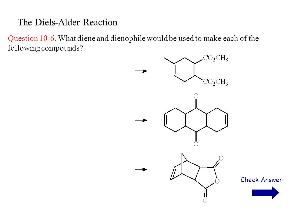 The Diels-Alder Reaction