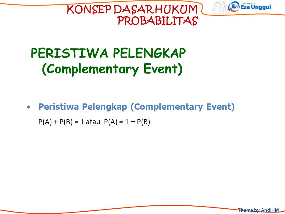 (Complementary Event)
