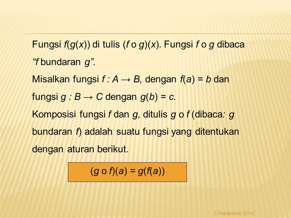 Bab 6 Fungsi Komposisi Dan Fungsi Invers Ppt Download