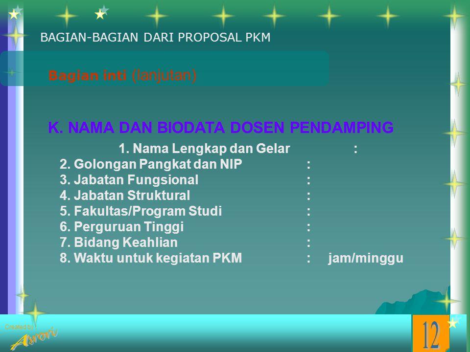 Penulisan Proposal Tata Tulis Pkm Ppt Download