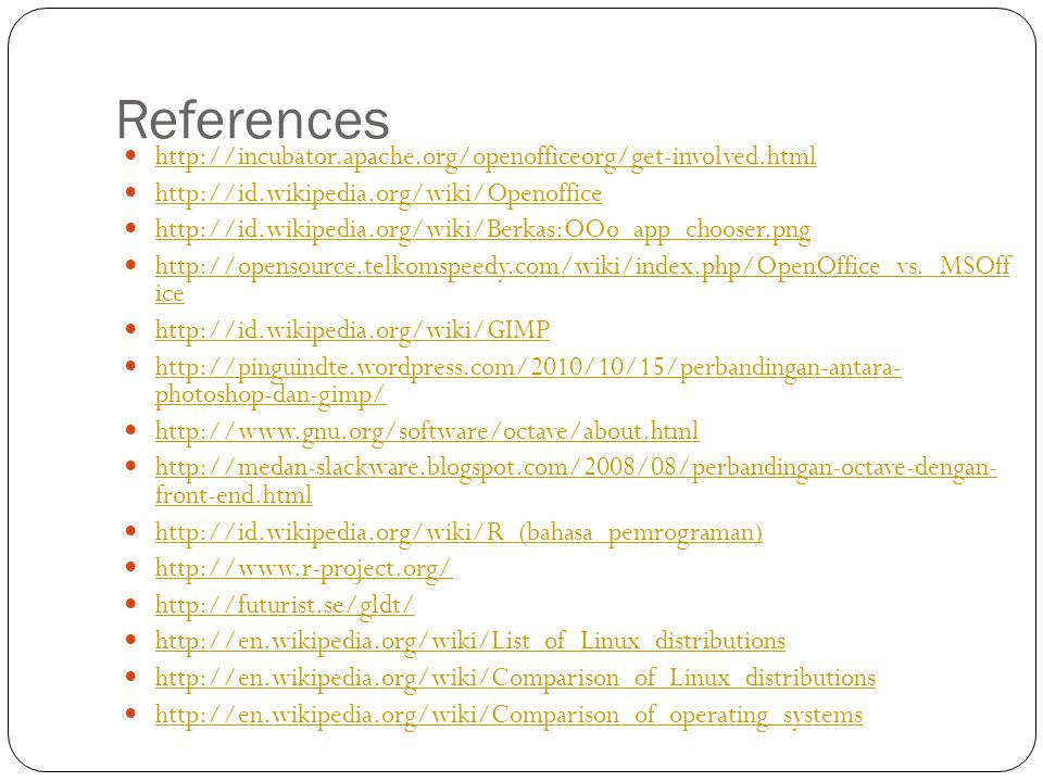 References http://incubator.apache.org/openofficeorg/get-involved.html