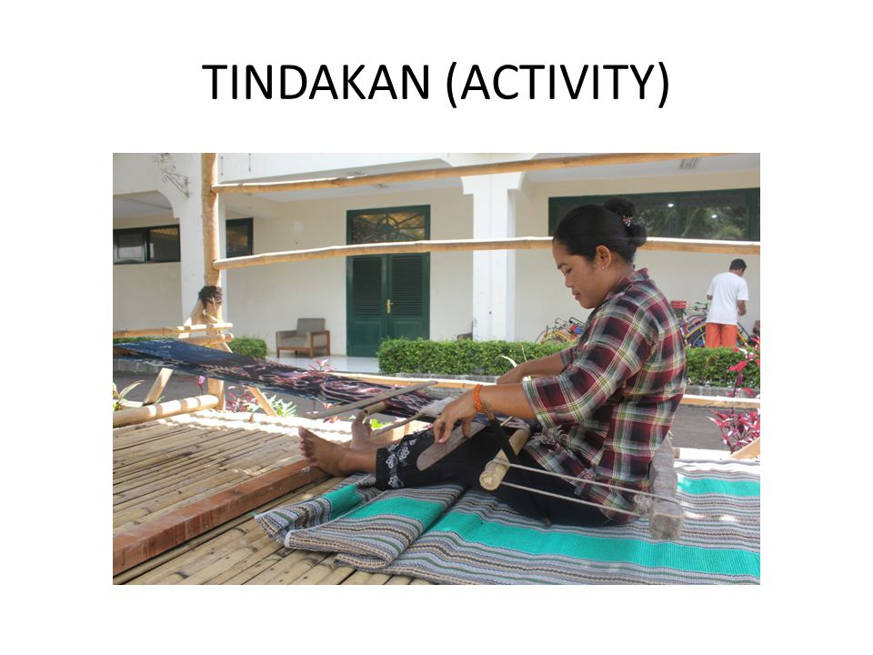 TINDAKAN (ACTIVITY)
