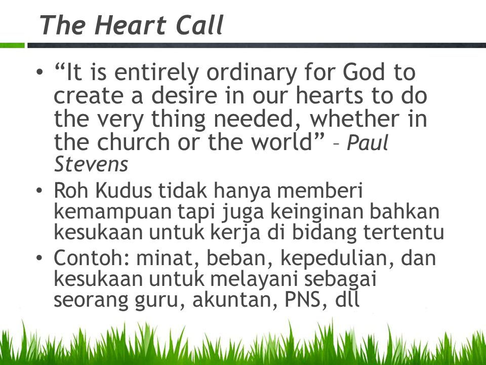 The Heart Call