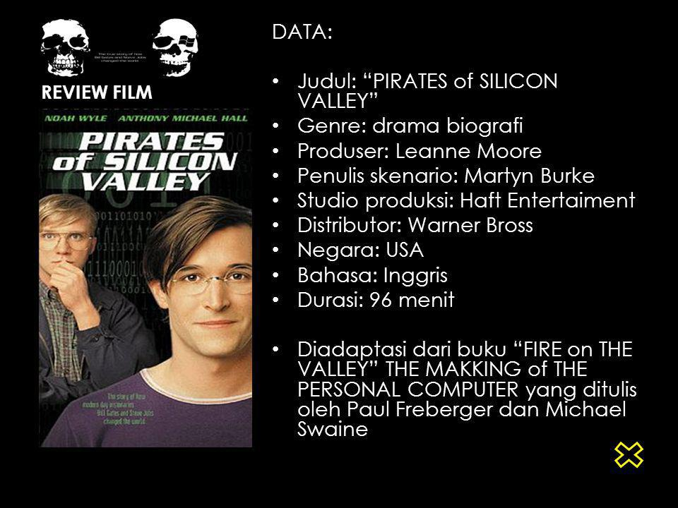 Judul: PIRATES of SILICON VALLEY Genre: drama biografi