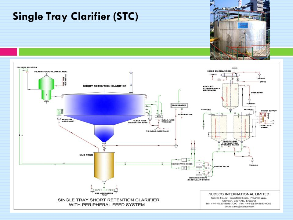 Single Tray Clarifier (STC)