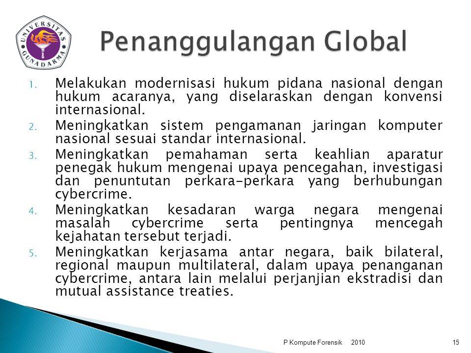 Penanggulangan Global