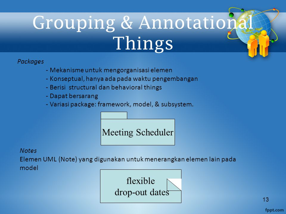 Grouping & Annotational Things